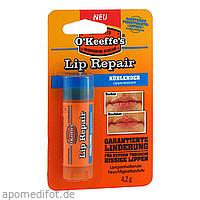 O'KEEFFE'S LIP REPAIR kühlender Lippenbalsam, 4.2 G, Kaufmann Neuheiten GmbH