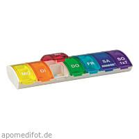 ANABOX 1x7 Regenbogen mit Fachteilern, 1 ST, Wepa Apothekenbedarf GmbH & Co. KG