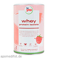for you whey protein isolate recovery Joghurt-Him, 840 G, For You eHealth GmbH