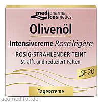 Olivenöl Intensivcreme Rose legere LSF 20, 50 ML, Dr. Theiss Naturwaren GmbH