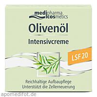 Olivenöl Intensivcreme LSF 20, 50 ML, Dr. Theiss Naturwaren GmbH