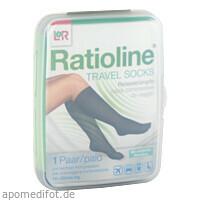Ratioline Travel Socks Gr. 36-40, 2 ST, Lohmann & Rauscher GmbH & Co. KG