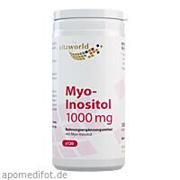 Myo-Inositol 1000, 120 ST, Vita World GmbH