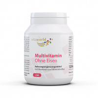 Multivitamin ohne Eisen, 120 ST, Vita World GmbH