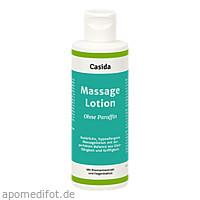 Massagelotion Natural ohne Paraffin, 500 ML, Casida GmbH & Co. KG