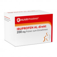 Ibuprofen AL direkt 200 mg Pulver zum Einnehmen, 20 ST, Aliud Pharma GmbH