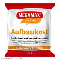 MEGAMAX Aufbaukost NEUTRAL, 30 G, Megamax B.V.