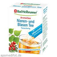 Bad Heilbrunner Nieren- u. Blasen Tee Tassenfertig, 10X1.2 G, Bad Heilbrunner Naturheilmittel GmbH & Co. KG