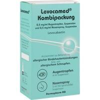 Levocamed Kombi 0.5mg/ml Augentr+0.5mg/ml Nasenspr, 1 ST, Dermapharm AG