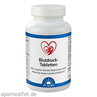 Blutdruck Tabletten Dr. Jacobs, 126 ST, Dr.Jacobs Medical GmbH