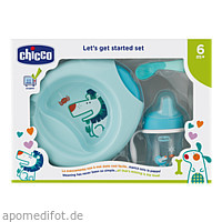 Geschenkset Mahlzeit 4 tlg. blue CHICCO, 1 ST, Habitum Pharma