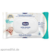 Feuchttücher Ultrasoft & Pure CHICCO, 72 ST, Habitum Pharma