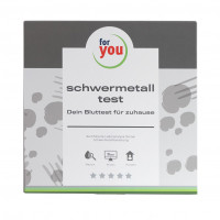 for you schwermetall-test, 1 ST, For You eHealth GmbH