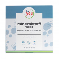 for you mineralstoff-test, 1 ST, For You eHealth GmbH