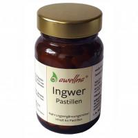 awellna Ingwer Pastillen, 60 ST, Werner Schmidt Pharma GmbH