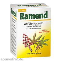 Ramend Abführ-Kapseln Rizinol, 60 ST, Queisser Pharma GmbH & Co. KG