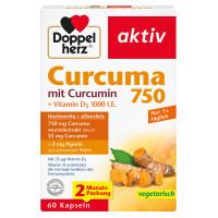 Doppelherz Curcuma 750, 60 ST, Queisser Pharma GmbH & Co. KG