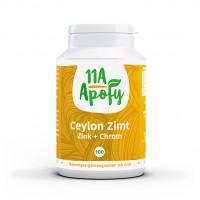 Ceylon-Zimt Zink + Chrom, 100 ST, 11a Apofy GmbH