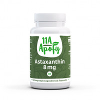 Astaxanthin 8 mg, 60 ST, 11a Apofy GmbH