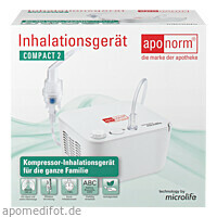 aponorm Inhalationsgerät Compact 2, 1 ST, Wepa Apothekenbedarf GmbH & Co. KG
