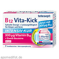 tetesept B12 Vita-Kick Intensiv-Kur, 7 ST, Merz Consumer Care GmbH