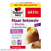 Doppelherz Haar Intensiv + Biotin, 30 ST, Queisser Pharma GmbH & Co. KG