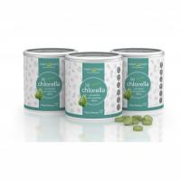 Chlorella Bio 100% pur a 400mg Tabletten vegan, 3X120 G, Amazonas Naturprodukte Handels GmbH