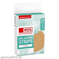 WEPA Pflaster Strips Classic wasserabw. 3 Größen, 20 ST, Wepa Apothekenbedarf GmbH & Co. KG