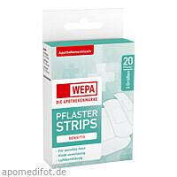 WEPA Pflaster Strips sensitiv 3 Größen, 20 ST, Wepa Apothekenbedarf GmbH & Co. KG