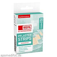 WEPA Pflaster Strips wasserfest 3 Größen, 20 ST, Wepa Apothekenbedarf GmbH & Co. KG