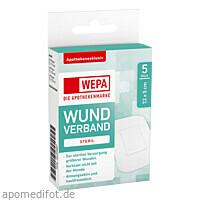WEPA Wundverband 7.2 x 5cm steril, 5 ST, Wepa Apothekenbedarf GmbH & Co. KG