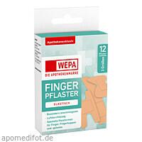 WEPA Fingerpflaster Mix 3 Größen, 12 ST, Wepa Apothekenbedarf GmbH & Co. KG