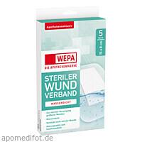 WEPA Wundverband wasserdicht 15 x 8cm steril, 5 ST, Wepa Apothekenbedarf GmbH & Co. KG