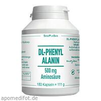 DL-Phenylalanin 500 mg Aminosäure rein, 180 ST, Sinoplasan AG