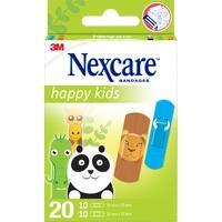 Nexcare Happy Kids Tiere, 20 ST, 3M Medica Zwnl.d.3M Deutschl. GmbH