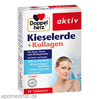 Doppelherz Kieselerde + Kollagen, 30 ST, Queisser Pharma GmbH & Co. KG