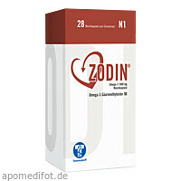 ZODIN Omega-3 1000 mg Weichkapseln, 28 ST, Trommsdorff GmbH & Co. KG