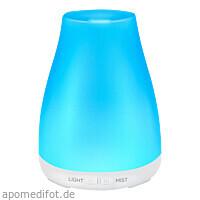 Aroma Diffuser für Ätherische Öle LED Weiß 150 ml, 1 Stück, Casida GmbH & Co. KG