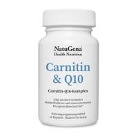 Carnitin & Q10, 90 ST, NatuGena GmbH