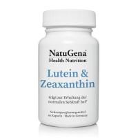 Lutein & Zeaxanthin, 60 ST, NatuGena GmbH
