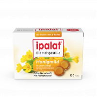 Ipalat Halspastillen honigmild o.Menthol zuckerfr., 120 ST, Dr. Pfleger Arzneimittel GmbH