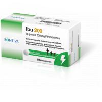 IBU 200, 50 ST, Zentiva Pharma GmbH