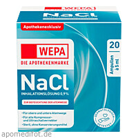 WEPA Inhalationslösung NaCl 0.9 %, 20X5 ML, Wepa Apothekenbedarf GmbH & Co. KG
