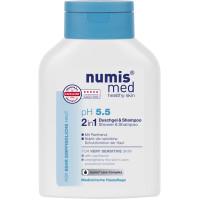 numis med ph 5.5 2in1 Duschgel & Shampoo, 200 ML, Mann & Schroeder GmbH