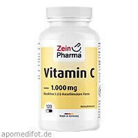 Vitamin C 1000 mg ZeinPharma, 120 ST, Zein Pharma - Germany GmbH