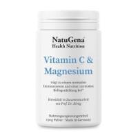 Vitamin C & Magnesium, 150 G, NatuGena GmbH
