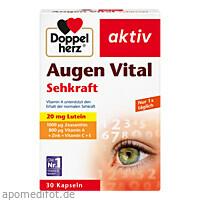 Doppelherz Augen Vital Sehkraft aktiv, 30 ST, Queisser Pharma GmbH & Co. KG