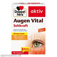 Doppelherz Augen Vital Sehkraft, 90 ST, Queisser Pharma GmbH & Co. KG