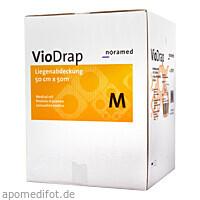 Ärztekrepp M 50cmx50m 2lag Zellstoff weiß VioDrap, 9 ST, Noracent Pharma Handels GmbH
