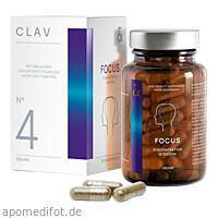 FOCUS für die Nerven - vegan, 60 ST, CLAV GmbH
